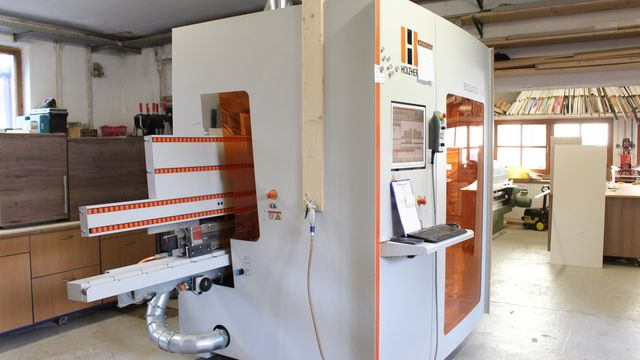 Referenz Holzher Maschine CNC Evolution 7405